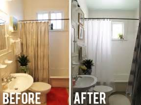 Burlap Shower Curtain by Before And After Diy Bathroom Renovation Ideas