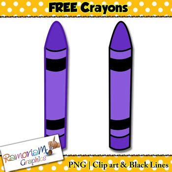 crayons clip art  ramonam graphics teachers pay teachers