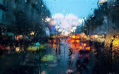 Rain Glass Water Desktop Wallpapers Backgrounds Mobile