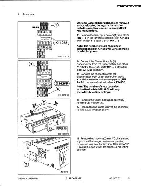 E39 Bmw Busines Cd Wiring Diagram by Diy Oem Cd Changer Installation