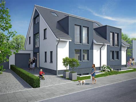 Moderne Doppelhäuser Trosperdelle 28 Duisburgrahm