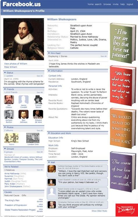 farcebook template farcebook template search dojoboard language arts is not an oxymoron