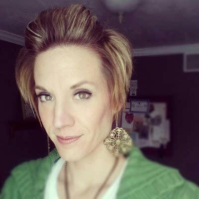 feature friday short hairstyles  brassy apple babes