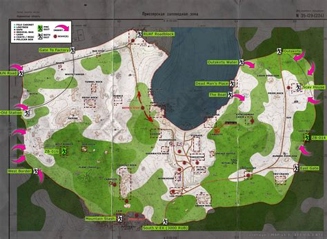 map tarkov woods maps escape loot spawns guide extraction points extractions exits factory reddit outskirts key scavs escapefromtarkov locations zb