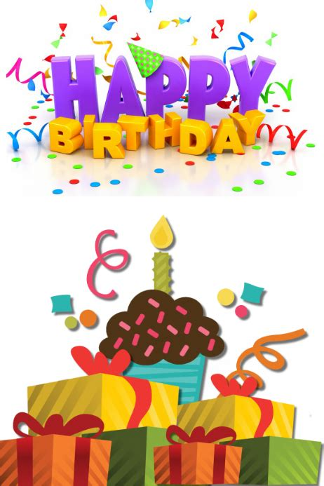 happy 1st birthday card template happy birthday card template postermywall