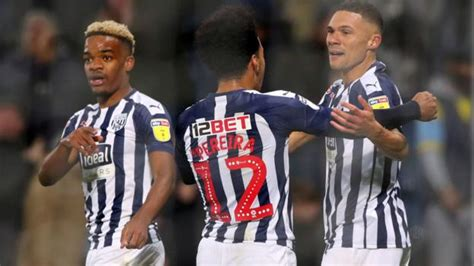 West Bromwich Albion 4-1 Bristol City: Baggies win to ...