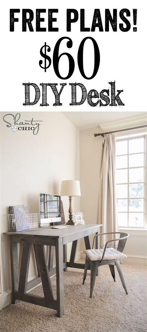 easy diy desk   great desk   stylish