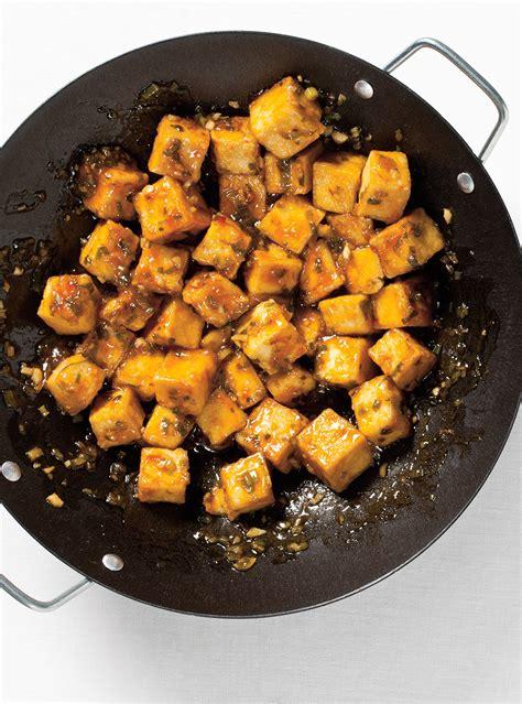 cuisiner tempeh recette de ricardo de tofu général tao végétarienne tofu vegans and recipes