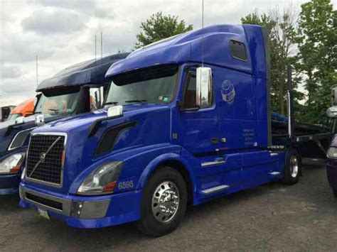 2009 volvo truck volvo 42vnl670 2009 sleeper semi trucks