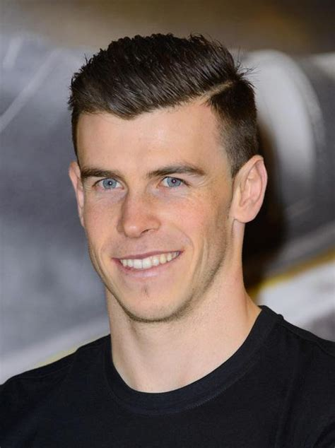 gareth bale haircut   color pictures