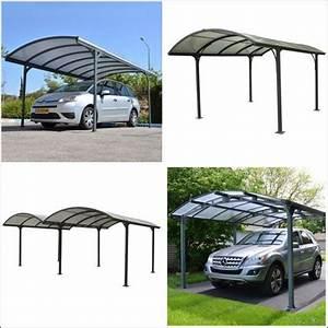 carport aluminium achat pas cher avec kibodio With maison toit plat bois 14 carport aluminium adosse talis 8 x 3 5 m direct abris