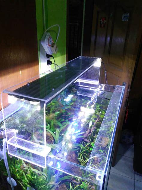 60 watt aquarium jual lu aquarium full akrilik diy 60 cm 24 watt