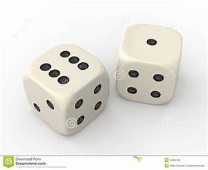 Two Dice stock illustration. Image of converse, different ...