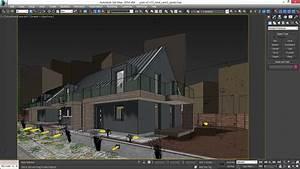 Vray Night Scene - Rendering Modern House tutorial 3D ...