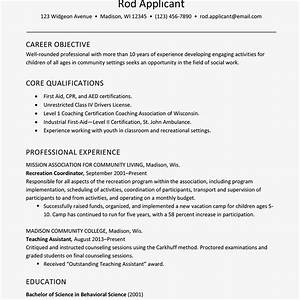 Child Care Resume Objective Resume Example For Childcare Social Services Worker