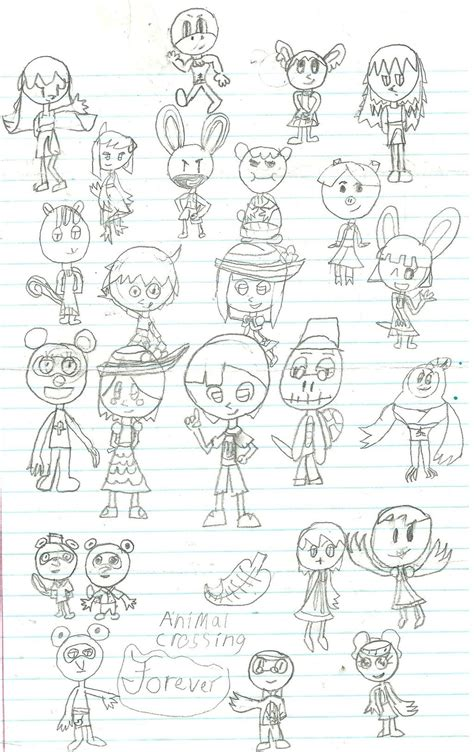 Animal Crossing Forever Character Art By Jakjake32 On
