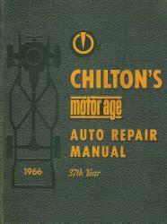 chilton automotive repair manual
