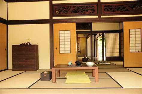japanese tea house interior video