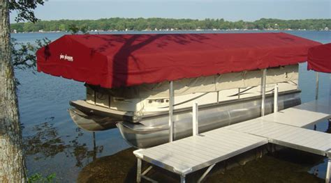 boat lift canopies stand  canopies  ease dock lift