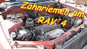 Toyota Rav4 Zahnriemen Wechsel 3s-fe Motor