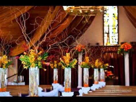 diy wedding church decorations youtube