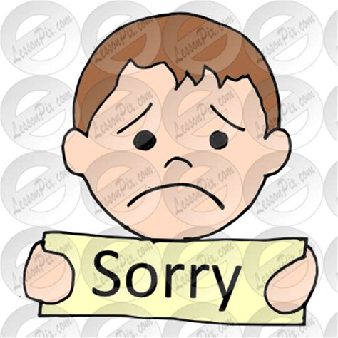 Sorry Clipart So Sorry Clipart Clipart Suggest
