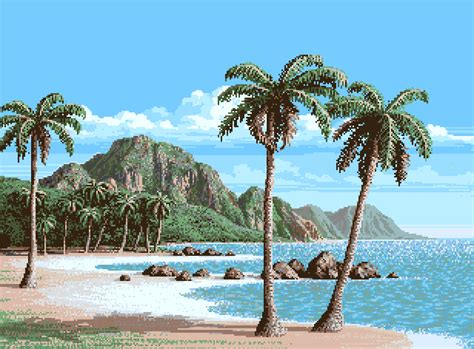 gif beach palm summer animated gif on gifer by garn