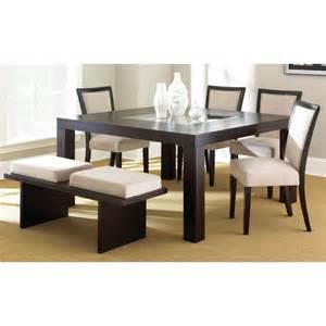 madera espresso dining set