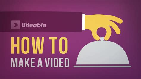 How To Make A Video With Biteable Youtube