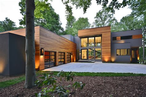 award winning modern home   greensboro nc