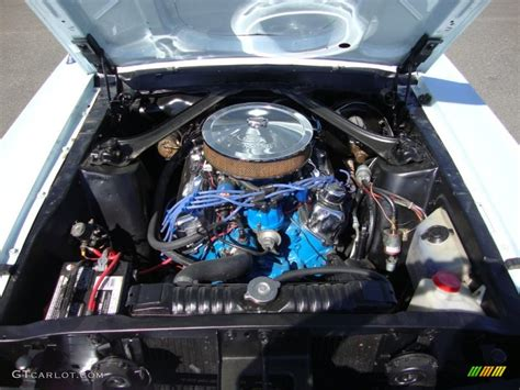 ford mustang coupe  cid  engine photo