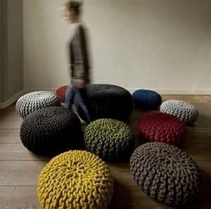 10 idées de poufs design et modernes