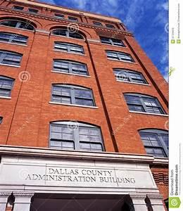 Texas School Book Depository, Dallas. Stock Photo - Image ...