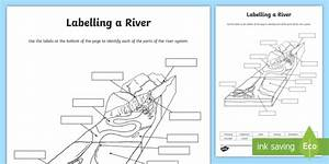 New   Labeling Parts Of A River Worksheet