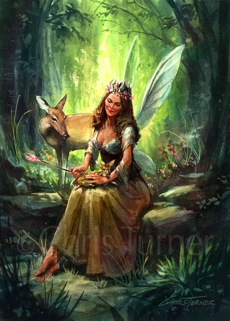 Image Result For Woodland Fairy Art  Enchanted Fairies