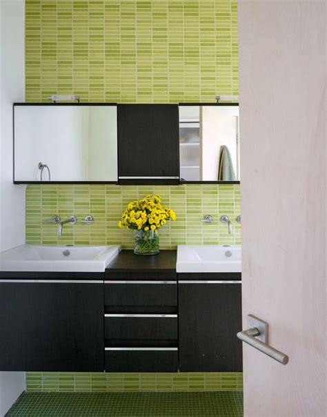 Lime Green Bathroom Tiles by 40 Lime Green Bathroom Tiles Ideas And Pictures