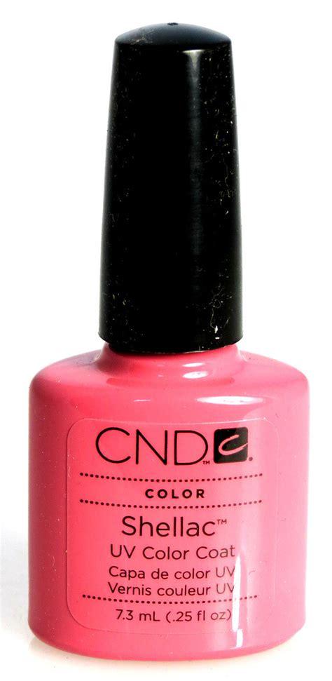 uv l nail polish cnd shellac uv gel nail polish gotcha 25oz ebay