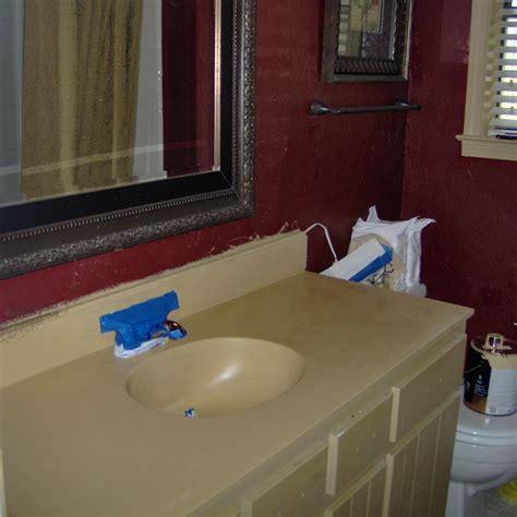 paint vanity top painting a vanity top diy