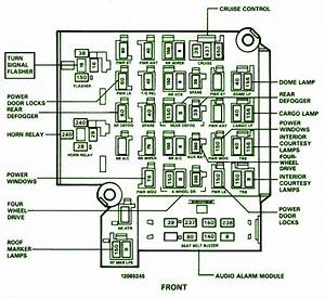 1990 Chevy Caprice Fuse Diagram