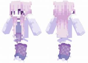 Purple Galaxy Minecraft Skins