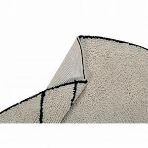 Tapis Rond Beige : tapis rond coton beige lorena canals trace 160 cm ~ Teatrodelosmanantiales.com Idées de Décoration