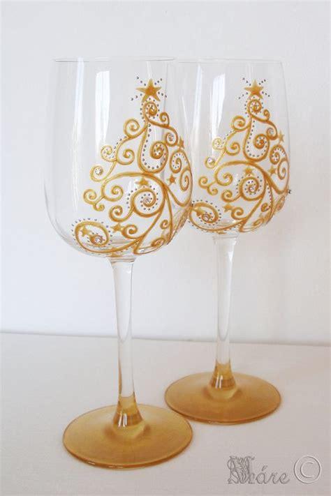i bicchieri a tavola come decorare i bicchieri per la tavola di natale idee