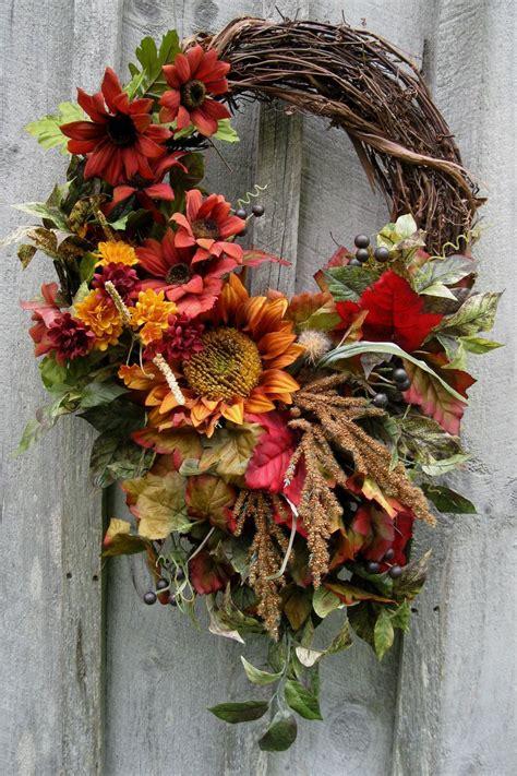 fall wreaths autumn wreath fall floral designer