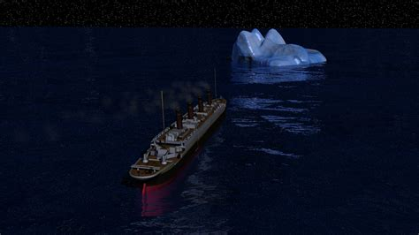 Titanic Sinking Animation by 3d