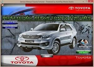 Manual De Taller Y Reparaci U00d3n Toyota Fortuner 2012