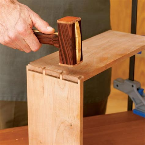 dead blow mallet woodworking plan  wood magazine