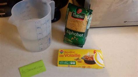cuisiner l馮er le soir bouillon de vermicelles virginie b