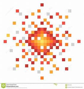 Pixel Art Bombe : pixel art explosion stock vector image of computer fire 89184168 ~ Melissatoandfro.com Idées de Décoration