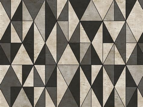 carta da parati geometrica  esterni diecut walldeco