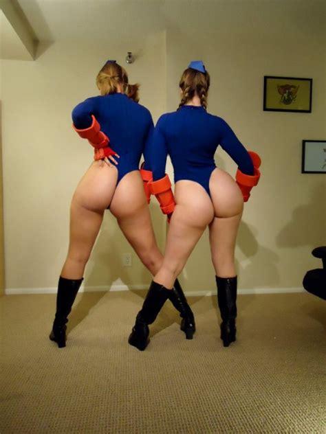 big ass cammy cosplay cumception